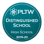 PLTW Distinguished School 2019-20